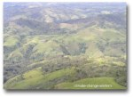 Forest clearing for agriculture, Papua New Guinea