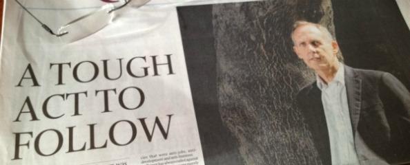 Bob Browne - A tough act to follow