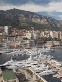 yatchs in monaco harbour