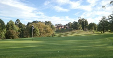 Springwood Golf Club 10th green