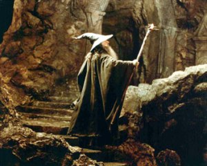Photo FOTR Gandalf Mines of Moria