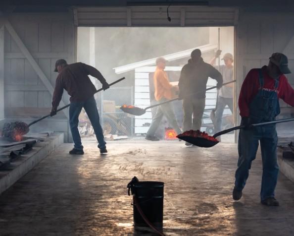 The shovel leaningworkshop